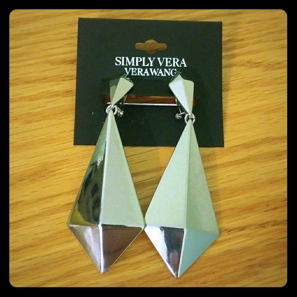 Simply Vera Vera Wang Jewelry - Silver Earrings